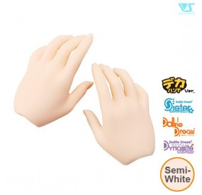 DDII-H-01B-SW / Basic Hands (Large Ver.) / Semi-White