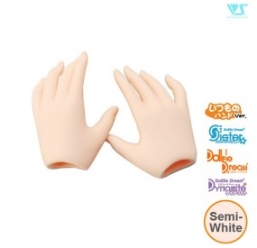 DDII-H-01-SW / Basic Hands / Semi-White