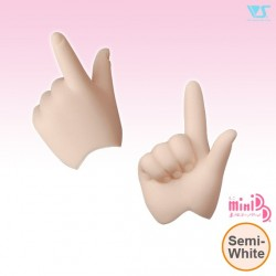 MDD-H-03-SW / Pointing Hands / Semi-White