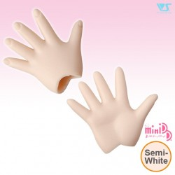MDD-H-04-SW / Paper/Outspread Hands / Semi-White