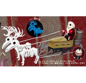 "KUBRICK ""Nightmare Before Christmas"" Jack Skellington Sandy Claws, Reindeer, SLED & Scarry Teddy"