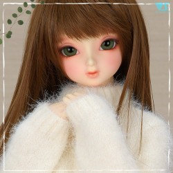 White Mohair Sweater Set