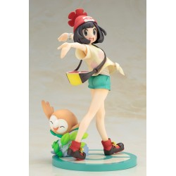 """Pokemon"" ARTFX J Selene with Rowlet"