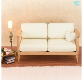 Wood Frame Sofa (Flower Jacquard)