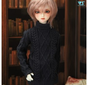 Black Turtleneck Sweater Set / Mini