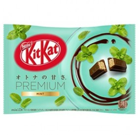 kitkat premium mint & chocolate