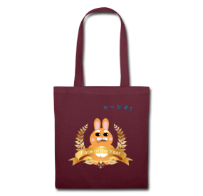"Tote bag ""Face of the year"""