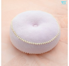 Round cushion (Marshmallow Purple)
