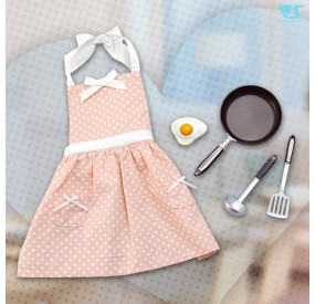 Frying Pan & Polka-Dot Apron Set
