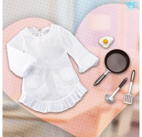 Frying Pan & Kappogi (Coverall Apron) Set